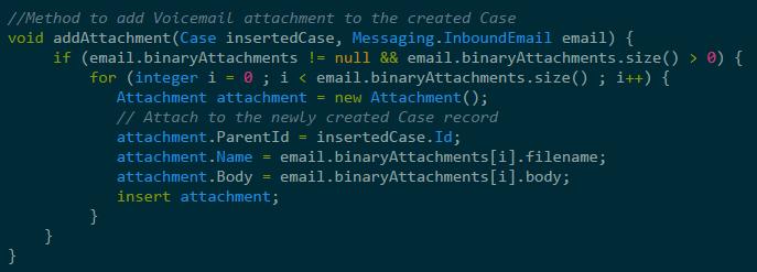 Processing Attachments