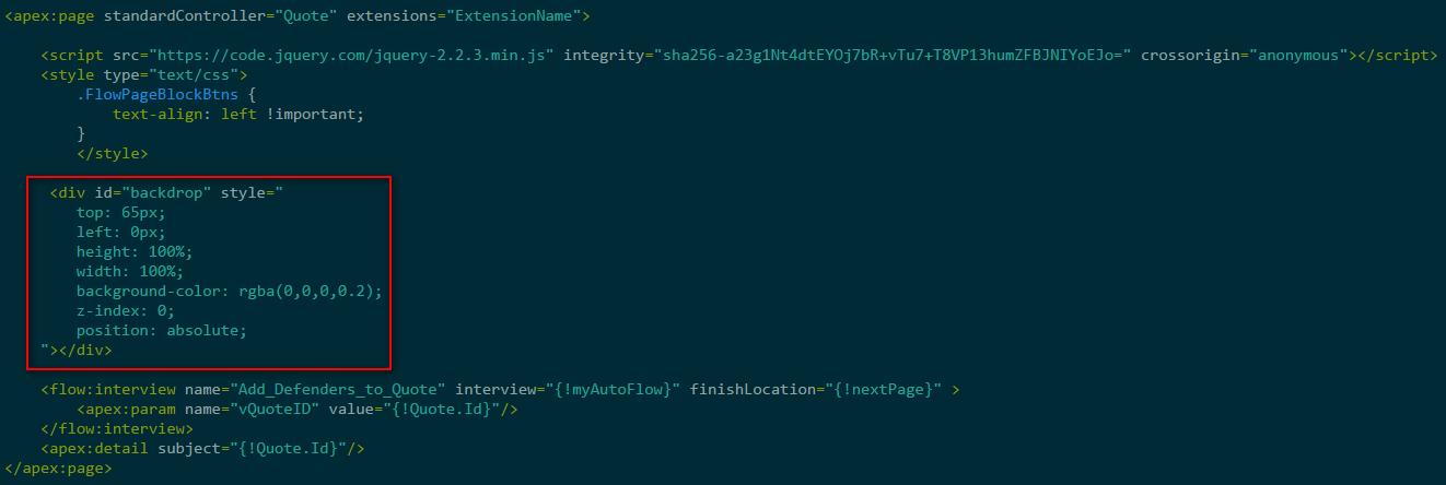Opaque code